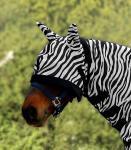 DE17 Zebra Fliegenmaske